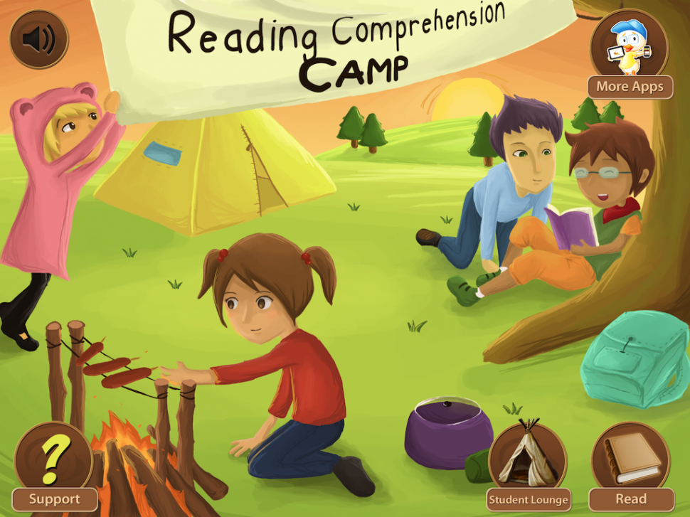 Reading Comprehension Camp: App Review