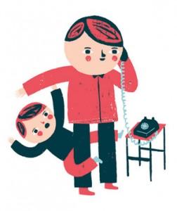 child interrupting