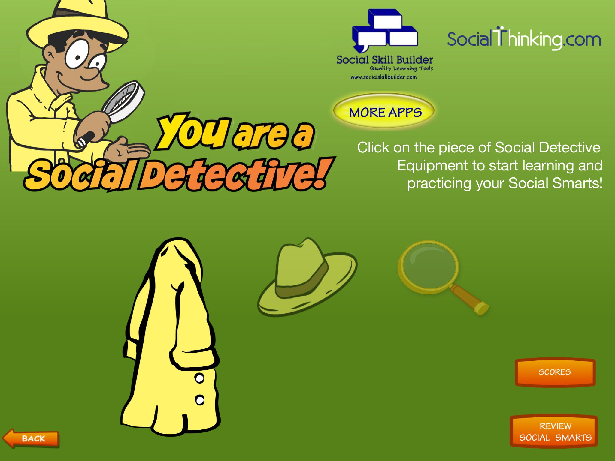 You are a Social Detective: Teaching Social Skills