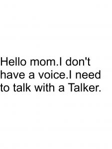no voice message