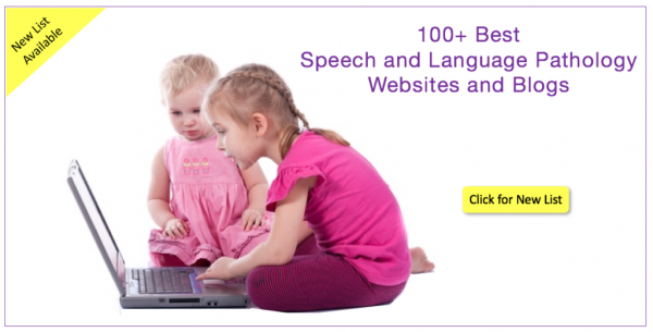 Blogs and Websites for Speech and Language