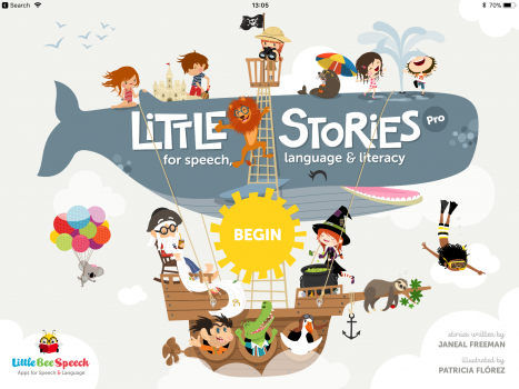 Little Stories for Speech, Language and Literacy