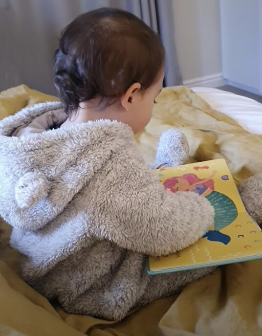 It is never too early to read to your baby